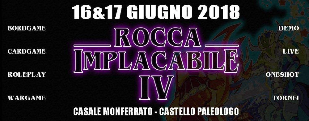 LA ROCCA IMPLACABILE IV