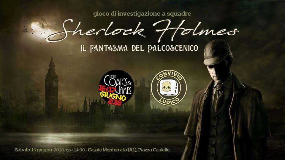 SHERLOCK HOLMES - Il Fantasma del Palcoscenico