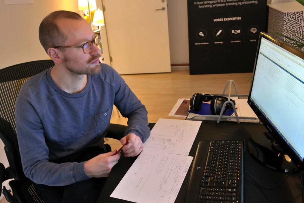 I samarbejde med spilfirmaet Serious Games udvikler Ballast en ny, digital synssimulation.