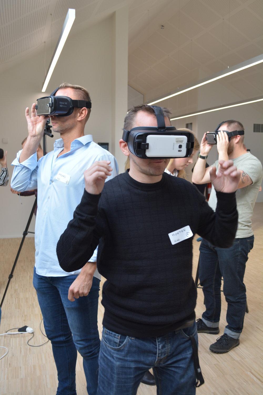 Eksisterende VR løsninger afprøves af metropolstuderende