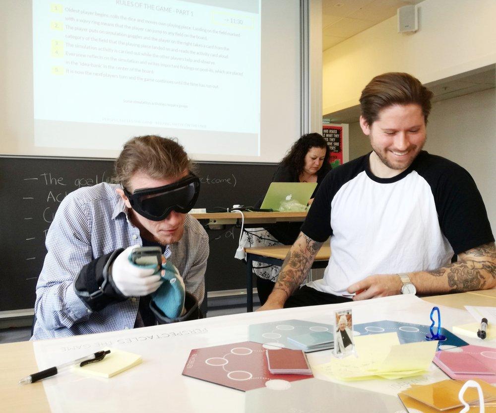 To Sustainable Design studerende prøvespiller Indsigt
