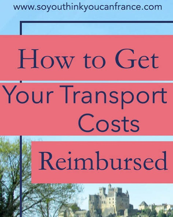 TAPIF friends: did you know you can get 50% of your public transportation costs reimbursed back into your bank account?  _ New post up now on the So You Think You Can France blog! Go read it to find out how!