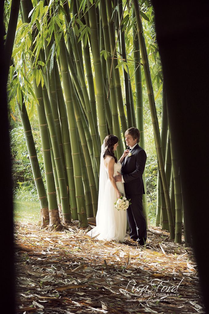 The Bamboo Cathedral – Photo Lisa Ford Weddings
