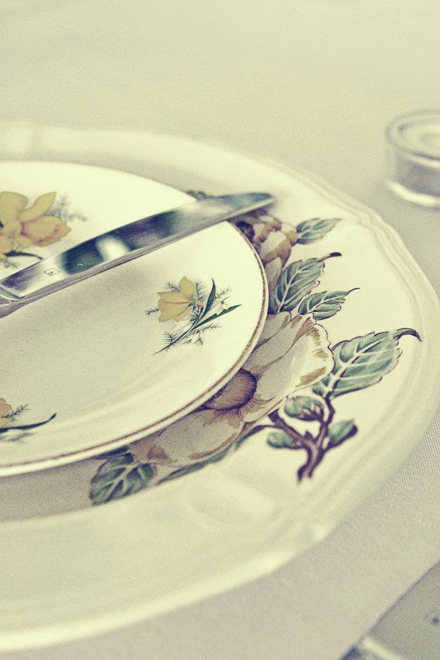 Collection of Bespoke Crockery for each individual place setting