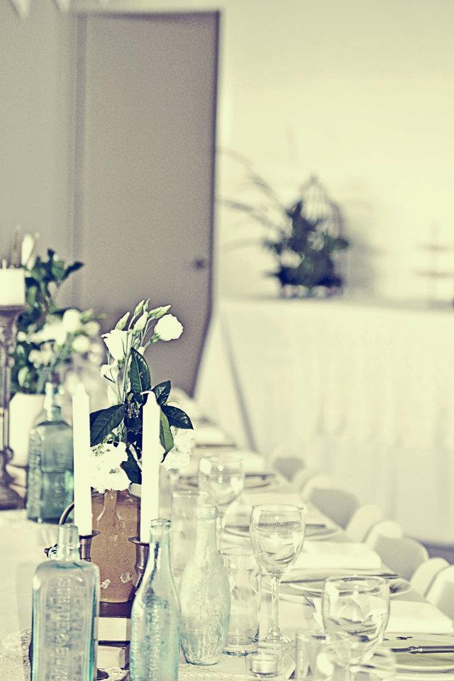 Jane's own styling and table settings