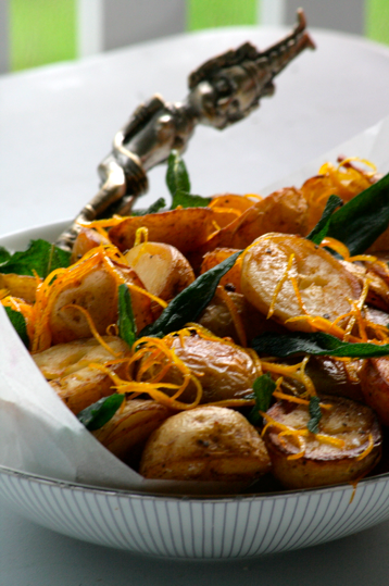 Crunchy Roast Potatoes with Citrus Zest