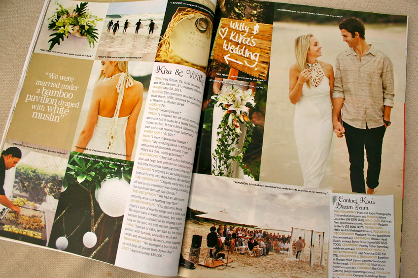 The Artcile in Cosmo Bride