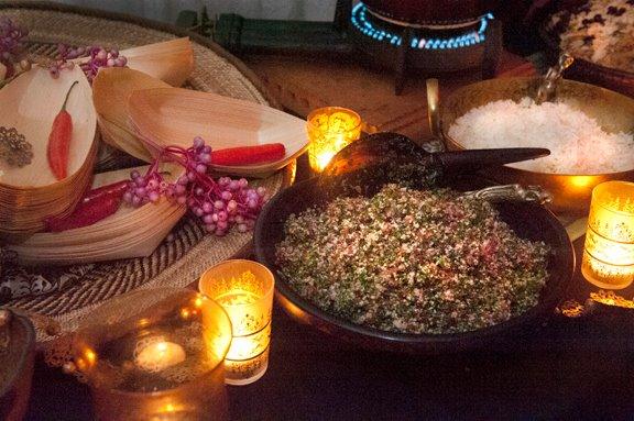 Fresh made Tabouleh