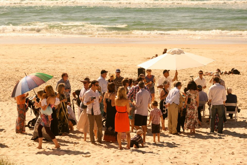 A Great Day for a Beach Wedding
