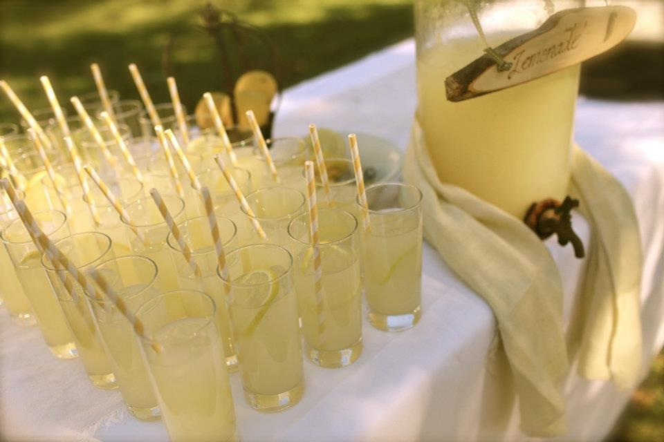 Our Homemade Lemonade