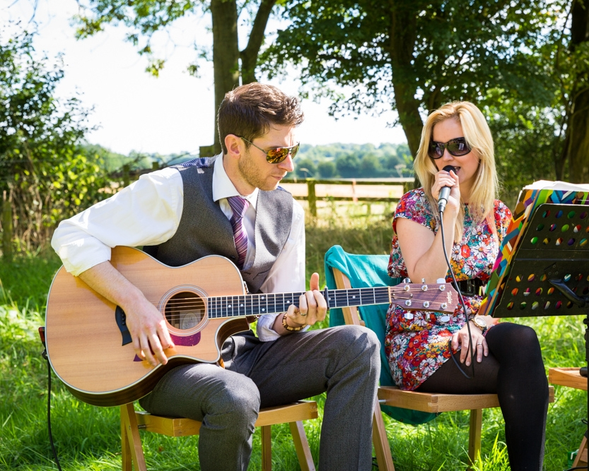 Taylormade Acoustic Duo Wedding Ceremony Crockwell Farm