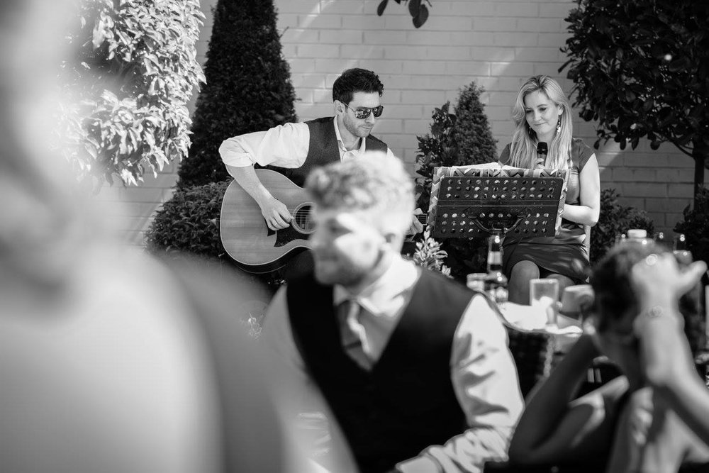 Taylormade Acoustic Duo Wedding Warwickshire