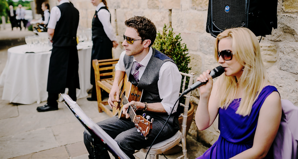 Taylormade Acoustic Duo Leicestershire Wedding