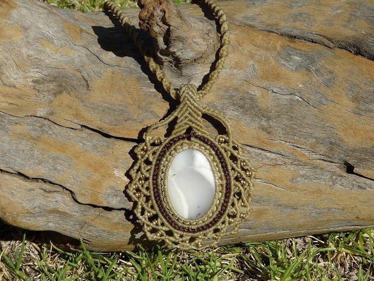 Dendritic agate pendant love thanks additional info dendritic agate aloadofball Choice Image