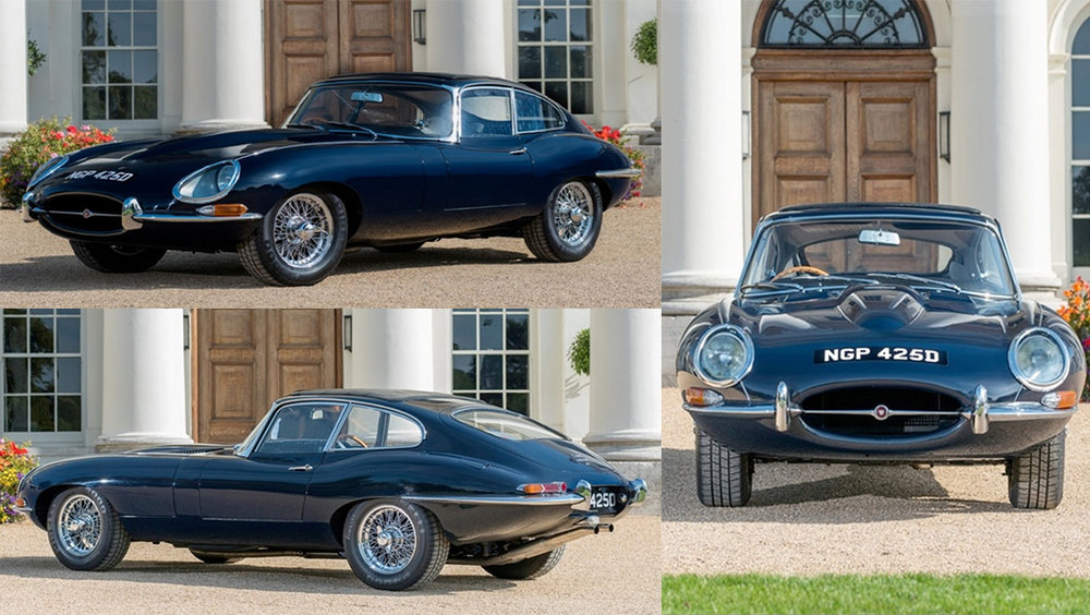 REWARD OFFERED - Art Recovery International (ARI) requests assistance from the public to help recover this 1966 Jaguar E-Type. On 25 November 2017, this iconic classic was removed from a nearby storage facility and parked outside the home of the theft victim on Camberwell Grove, London SE5 8RF in preparation for a drive in the country the following day. The car was covered overnight and discovered missing on the morning of 26 November 2017.