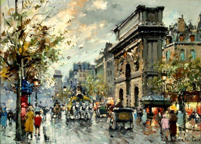 Antoine Blanchard,  Porte Saint Martin