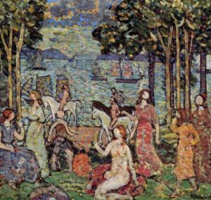 Maurice Prendergast,  The Promenade