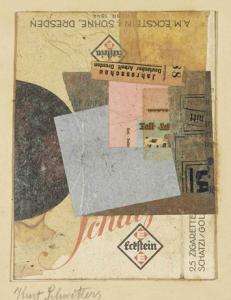 Kurt Schwitters (1887-1948),  Ohne Titel