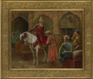 The Grand Vizier  by Edwin Lord Weeks