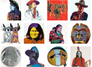 Andy Warhol,  Cowboys & Indians