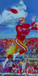 Quarterback of the 80's  by LeRoy Neiman