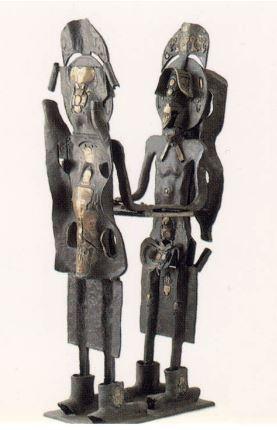 Les Arethuses by Roberto Matta, 1994, Bronze, 172 x 68.5 x 39 cm
