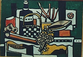 Fernand Léger (1881-1955),  Still Life with a Blue Bottle  (1950)