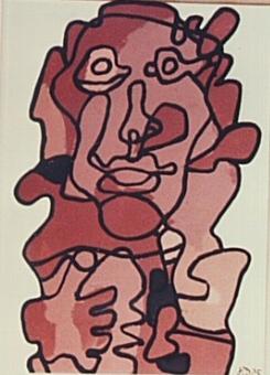 Jean Dubuffet (1901-1985),  Effigies  (1975)