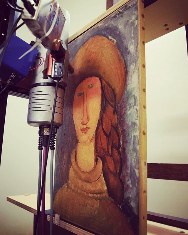 Forensic examination of all Modigliani works in French museums gets under way.... https://www.theartnewspaper.com/amp/news/modiglianis-in-french-museums-go-under-the-microscope-in-bid-to-beat-the-forgers?__twitter_impression=true  #art #fineart #artresearch #french #modigliani #museums #artnewspaper #examination #microscope #forensicscience #xray #study #research #investigation
