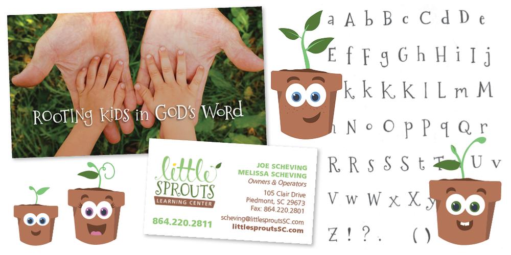 logo daycare branding design freelance