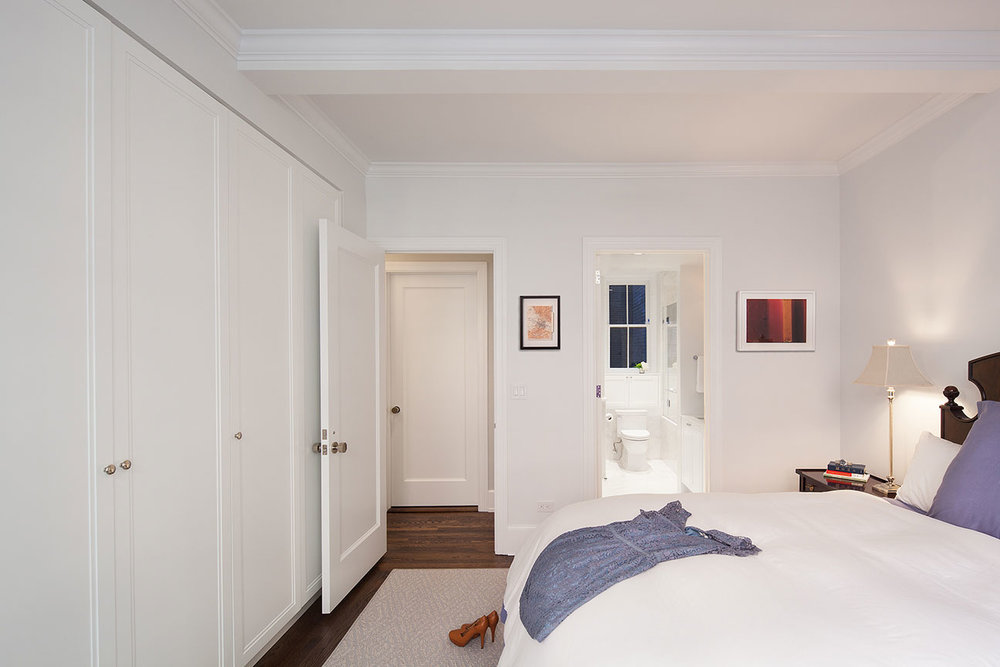 Upper East Side Apartment - Master Bedroom