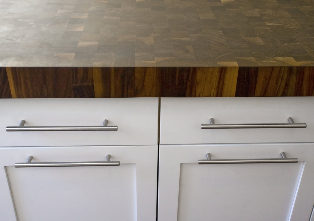 Beekman Place Apartment - Butcher Block Countertop