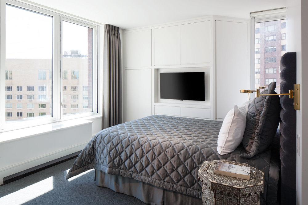 Central Park West Guest Bedroom
