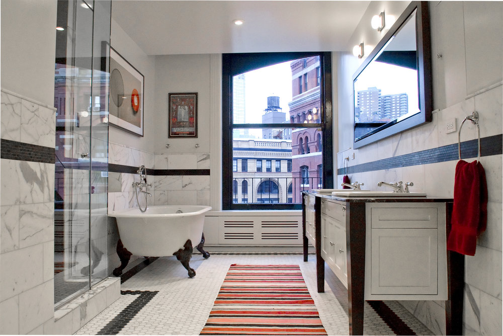 Tribeca Loft - Master Bathroom