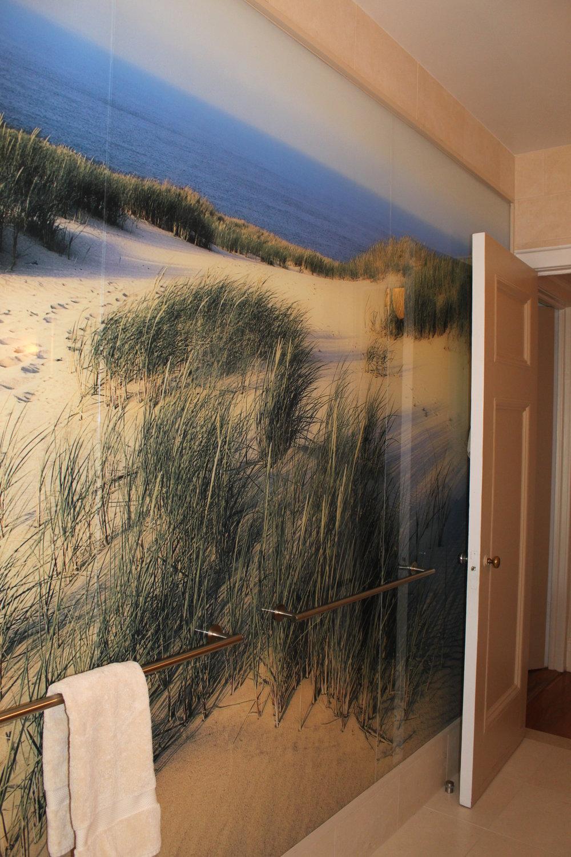 Upper West Side Apartment - Bathroom Wallpaper