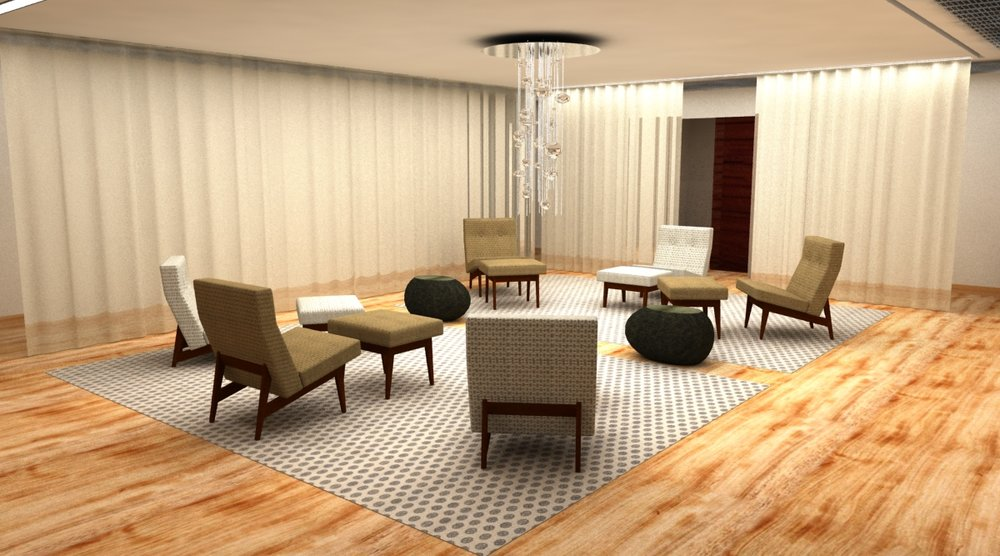 Pause Spa - Private Group Lounge Area