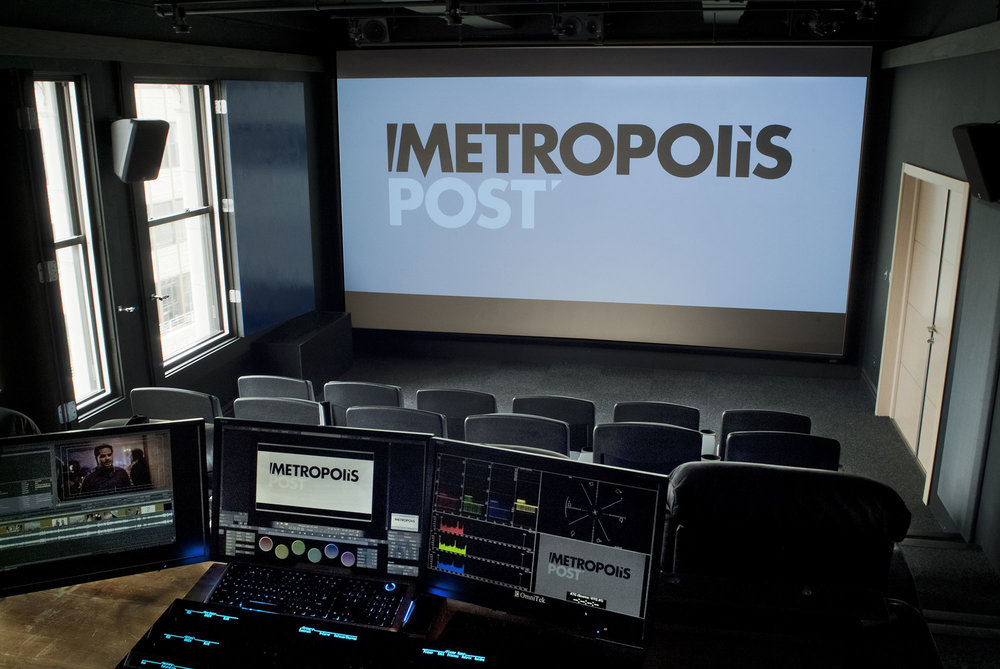 metropolis post - production control panel
