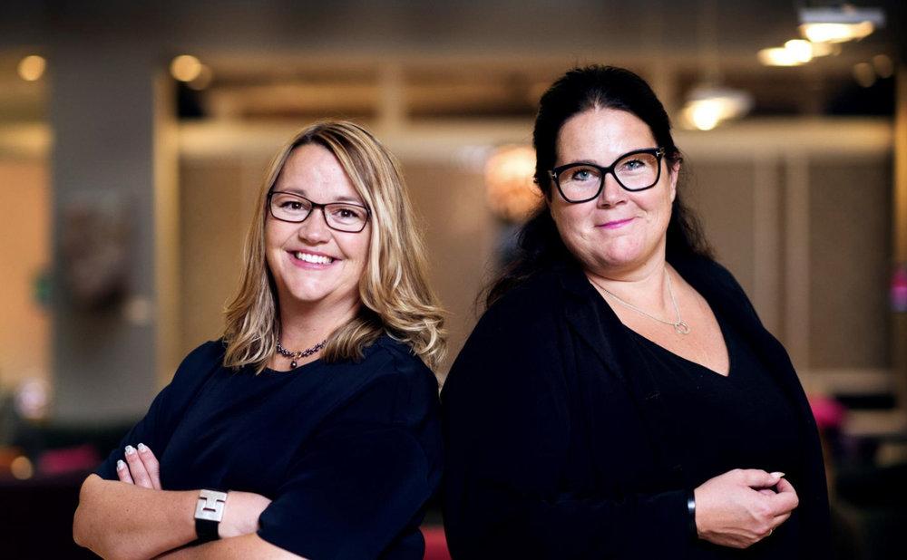 Eva Skarp & Marie Carlsson -