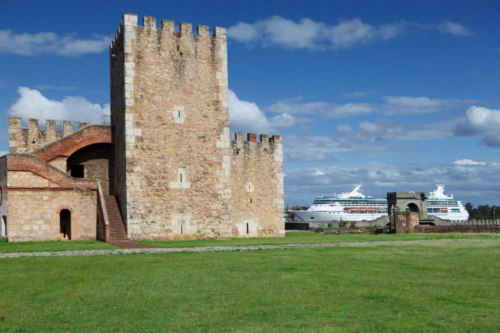 17.   La Fortaleza Ozama (The Ozama Fortress):  The Ozama Fortress is a sixteenth-century castle built by the Spanish. Overlooking the Ozama River, this castle is a beautiful representation of medieval architecture, and not to be missed.