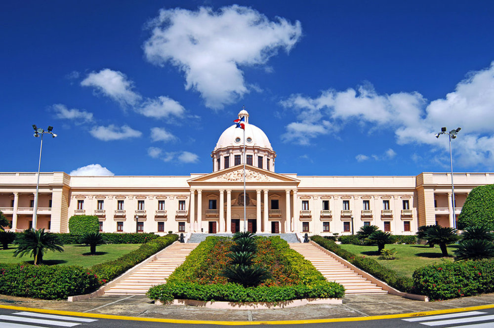 18.   El   Palacio Nacional (The National Palace):  The National Palace occupies the Executive Branch of the Dominican Republic. Located in Santo Domingo, the Palace is an incredible structure with ornate details and beautiful gardens.