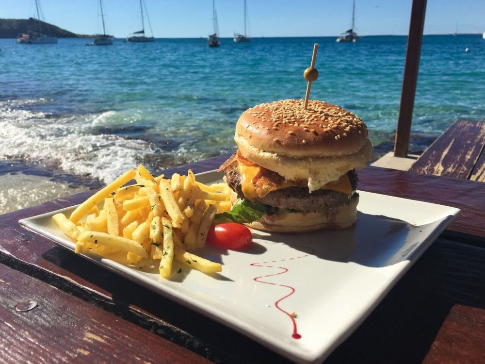 Sometimes you just need a burger. And that burger needs to have brie. And it needs to be eaten on the beach.