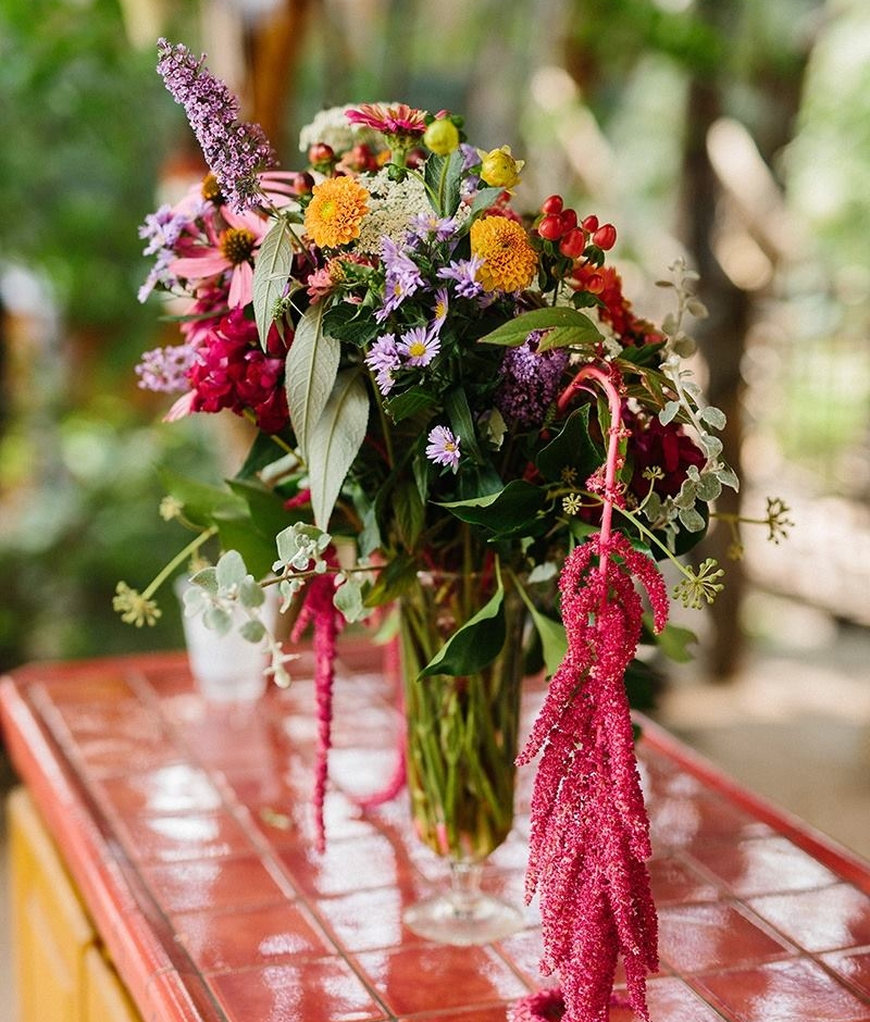 Bold Summer Centerpiece