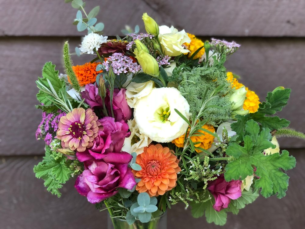 Early Autumn Bridal Bouquet