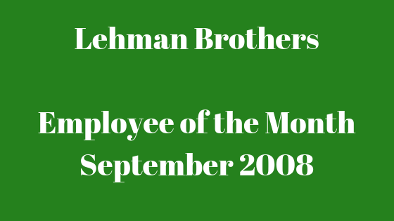 Lehman BrothersEmployee of the MonthSeptember 2008.png