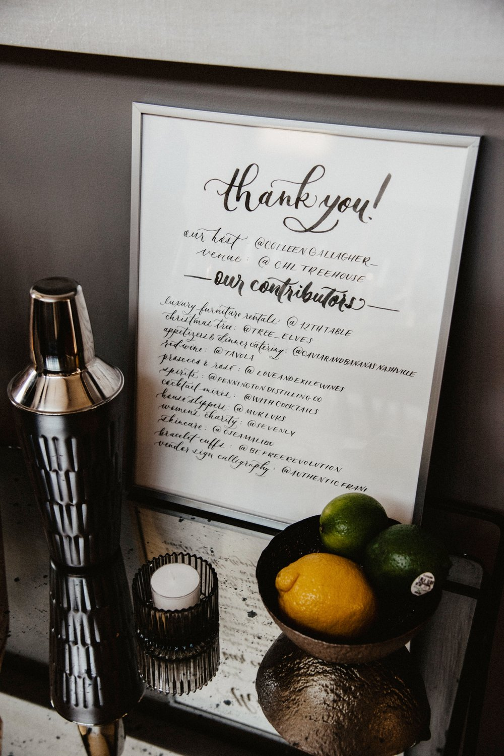 Authentic by Frani  / Wedding & Event Calligraphy