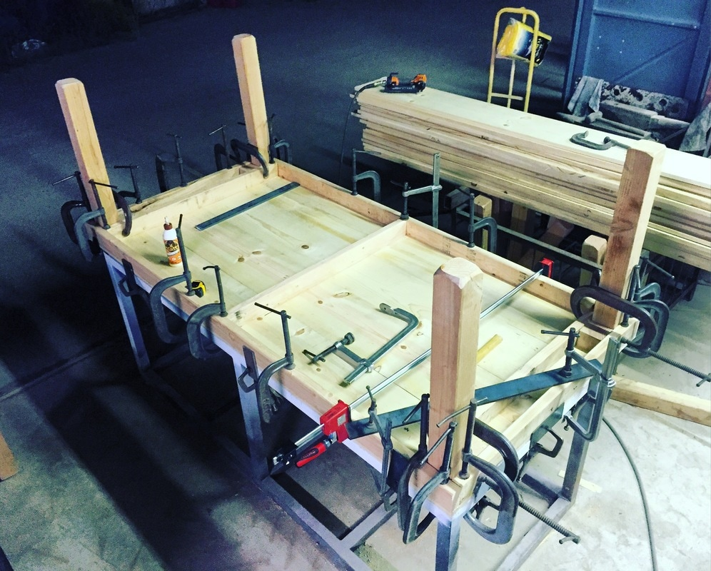 1 table = 50 plus clamps!