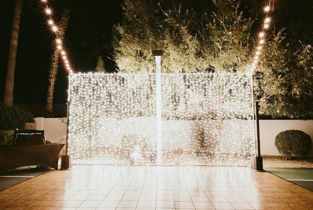 Twinkle Light Wall