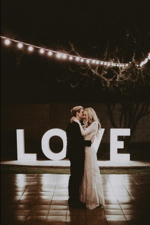 LOVE Light Letters 4ft