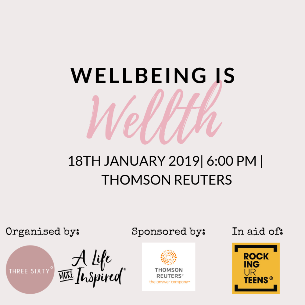 thomson reuters, a life more inspired, live three sixty, wellbeing is wellth, 3rd metric of success, Arianna Huffington, thrive. wellness business, female founder