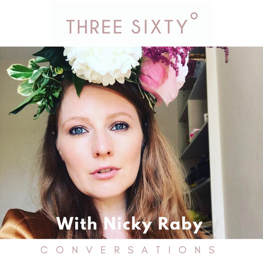 Nicky Raby, three sixty conversations. live three sixty, tamu Thomas, everyday joy, female founder, thought leader, personal development, Oprah